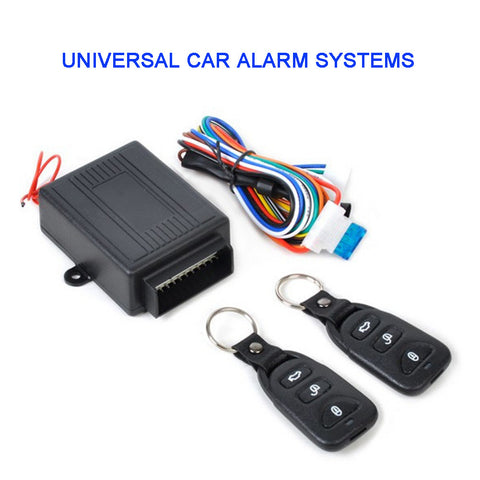 UniversalAlarm Systems Car Remote Central Kit Door Lock Locking Vehicle Keyless Entry SystemWith Remote Controllers