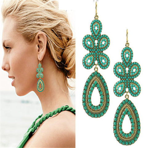 Wing Yuk Tak Drop EarringsJewelryClassicBohemian Dangle Earrings For Women Accessories
