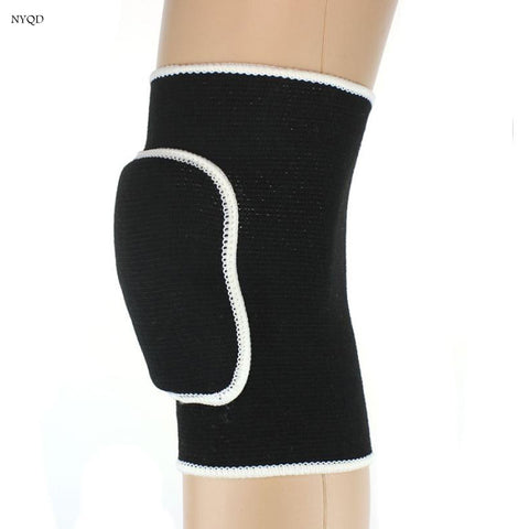 QualitySoft Elastic Sports Leg Knee Support motorcycle leg protection Pads Kneepads Volleyball Knee Protection