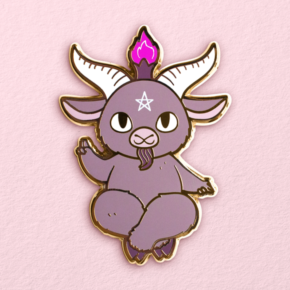 Kawaii Baphomet Pin