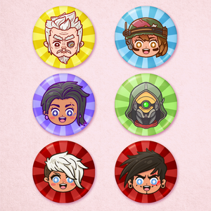 Borderlands 3 Portrait Buttons