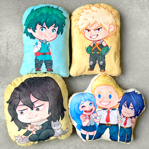 My Hero Academia Plush Pillows *LAST CHANCE*