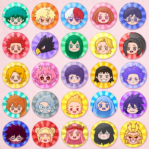 My Hero Academia Portrait Buttons
