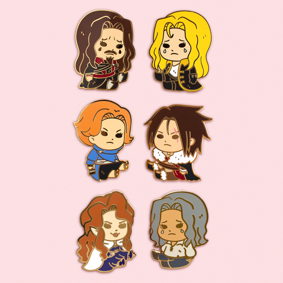 Castlevania Pins *LAST CHANCE*