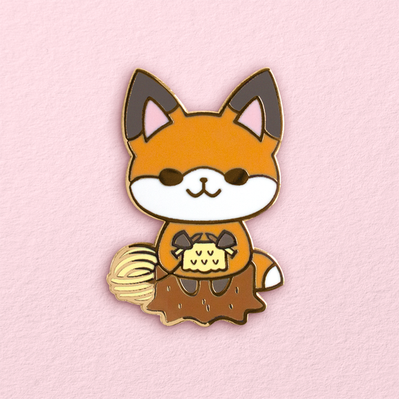 Crafty Fox Pin