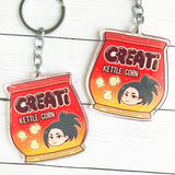 My Hero Academia Class 1-A Snacktime Keychains