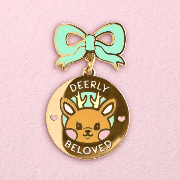 Deerly Beloved Pin