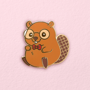Eager Beaver Pin *LAST CHANCE*