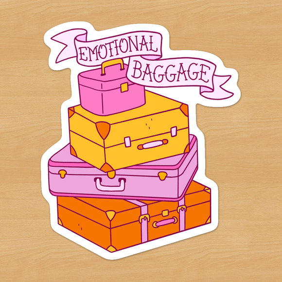 Emotional Baggage Sticker