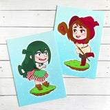 Froppy & Uravity Fantasy 5x7 Art Prints