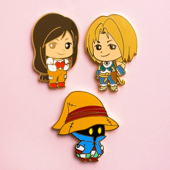 Final Fantasy IX Pins