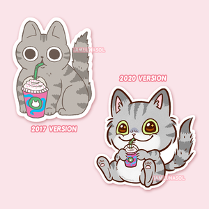 Starbucks Unicorn Frappucino Cat