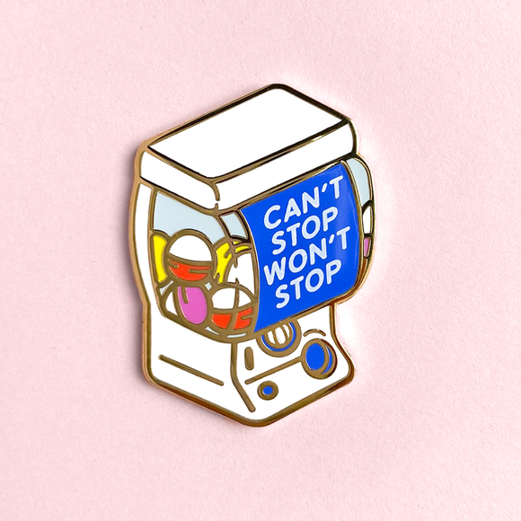Gachapon Machine Pin