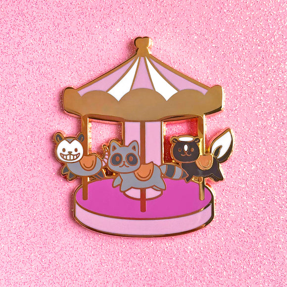 Garbage-Go-Round Pin (Limited Edition)