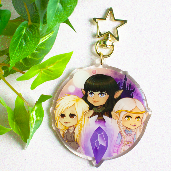 The Dark Crystal Gelfling Keychain