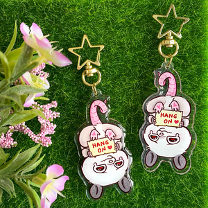 PREORDER Hang On Possum Keychain