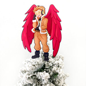 Hawks Christmas Tree Topper