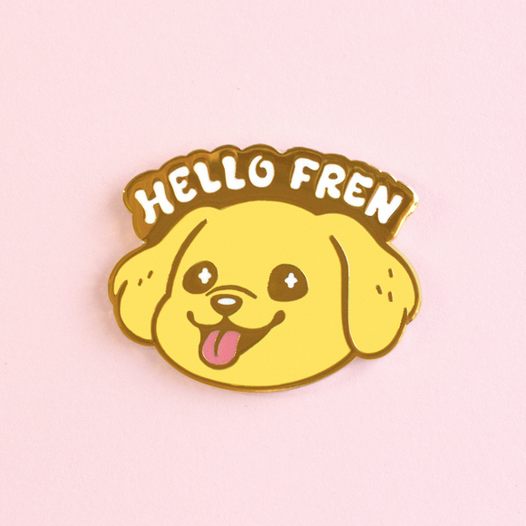 Hello Fren Pin