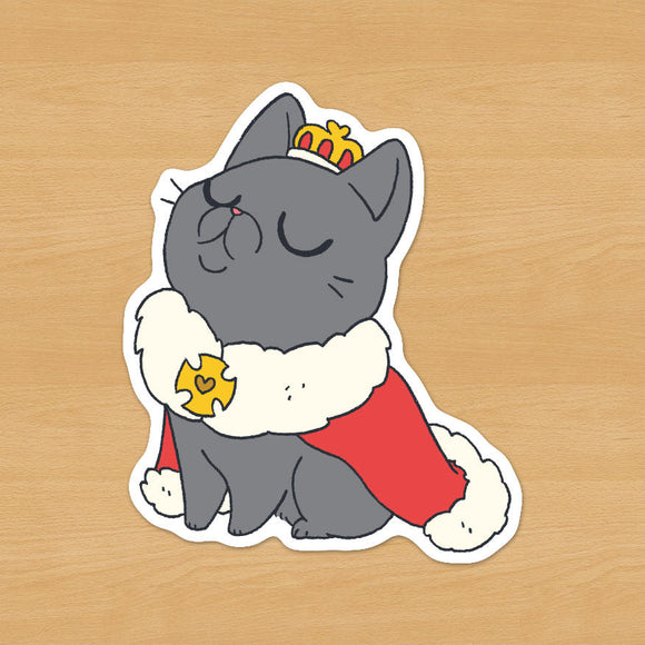 Royal Cat Sticker