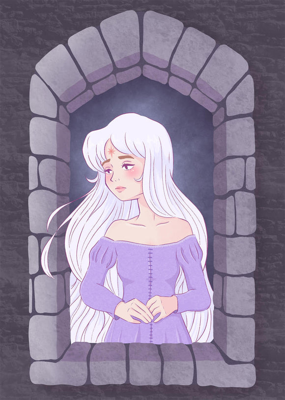 Lady Amalthea Mini Print