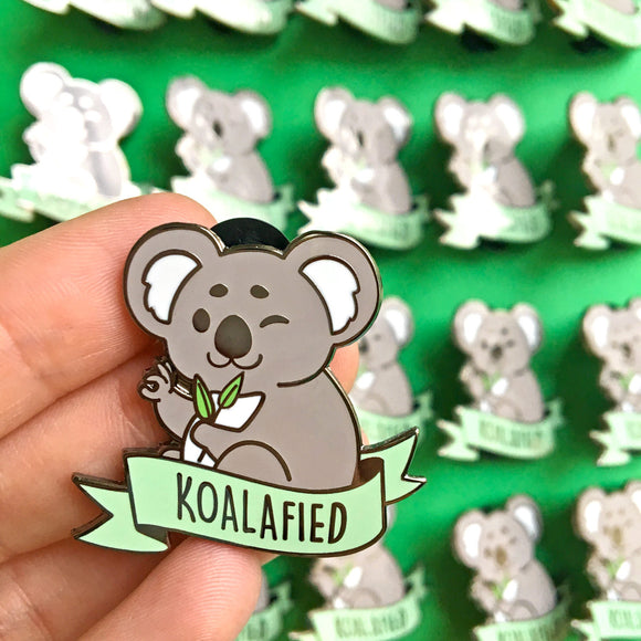 Koalafied Pin