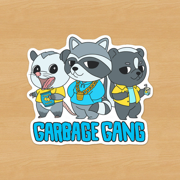 Garbage Gang Sticker