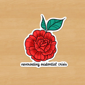 Neverending Existential Crisis Sticker
