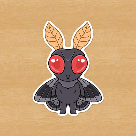 Kawaii Mothman Sticker