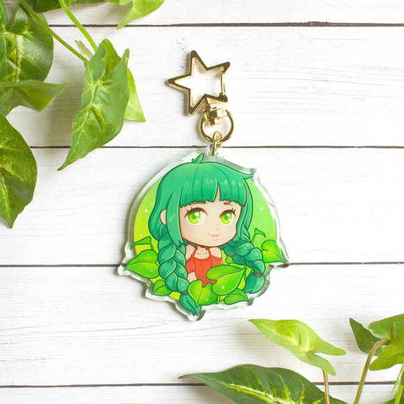 Plant Lover Keychain