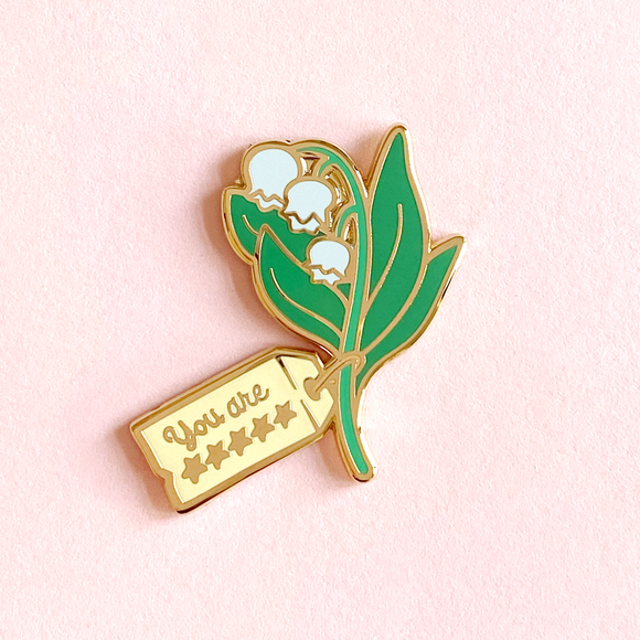 PREORDER Lily of the Valley Pin