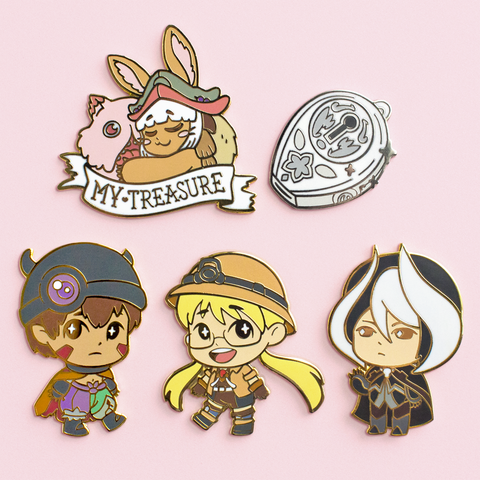 Made in Abyss Pins