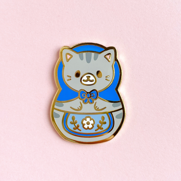 Meowtryoshka Pin (Limited Edition)