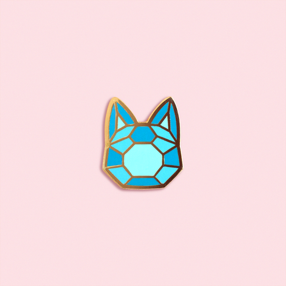 Meowgic Crystal Pin