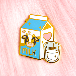 Milk Carton Pin