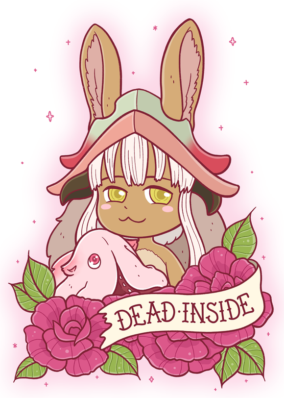 Nanachi & Mitty Dead Inside 5x7 Art Print