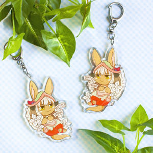 Nanachi Soft Yet Strong Keychain