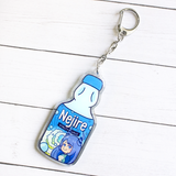 Other Students Snacktime Keychains