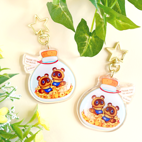 Timmy & Tommy Nook Bottle Keychain
