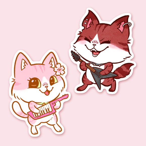 Petal and Pepper Stickers
