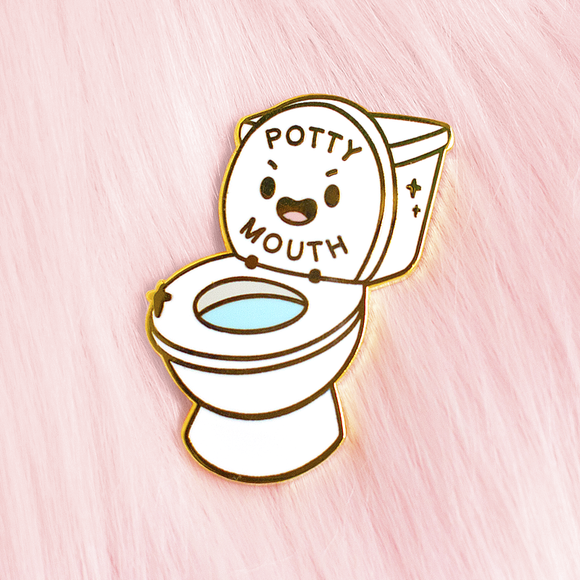 Potty Mouth Pin
