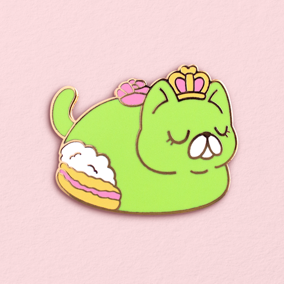Purrincess Cake Pin (Limited Edition)