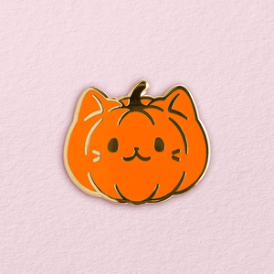 Pumpkitten Pin
