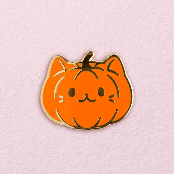Pumpkitten Pin (Backordered)
