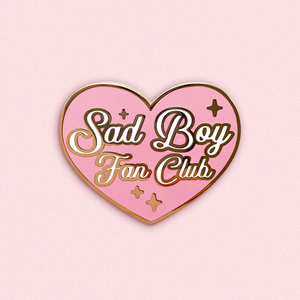 Sad Boy Fan Club Pin