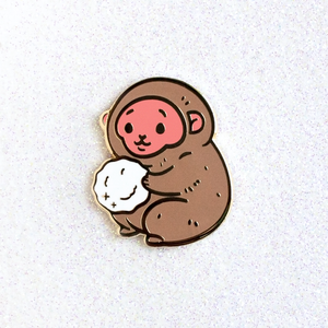 Snow Monkey Pin (Limited Edition)