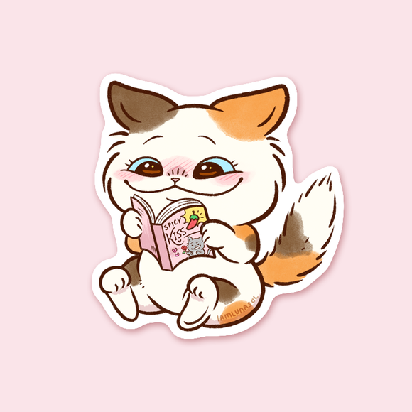 Romance Manga Kitty Stickers