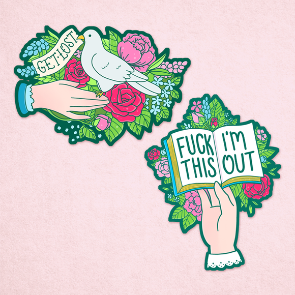 Victorian Sass Sticker Pack