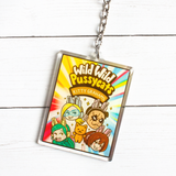 Pro Heroes Snacktime Keychains