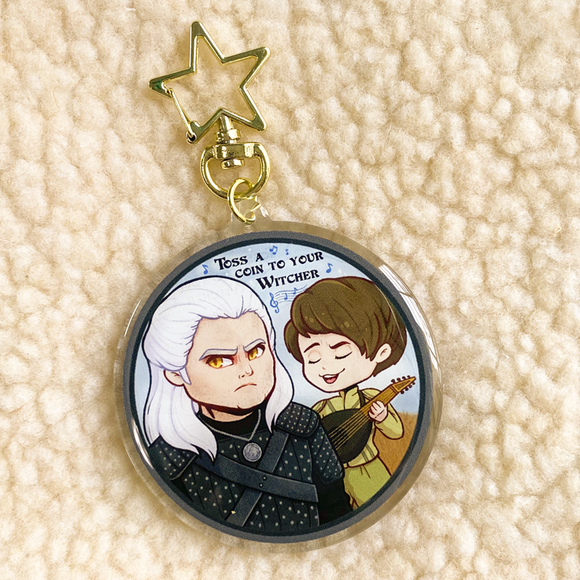 Toss a Coin to Your Witcher Keychain (Backordered)