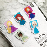 Princess Magnetic Bookmark